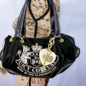 Juicy Couture black satchel